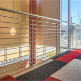 Stainless Steel Balustrade with Rod Bar Railing Wire Cable Railing