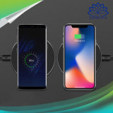 Ultra Thin Qi Wireless Smart Fast Charger LED Indicator 10W Quick Charger for iPhone 8 / 8 Plus / Samsung Galaxy S8 / S8 Plus