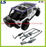 07-16 for Jeep Wrangler Jk (4 Door) Steel Iron Roll Cage Kits Roof Rank