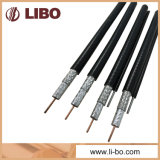 Quad-Shield RG6 Coaxial Cable for CCTV / CATV