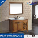 Wholesale Classic Solid Wood Ceramic Basin Antique Bathroom Furniture