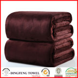 Super Soft Coral Fleece Solid Color Blanket Df-9936