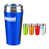 Two Wall Stainless Steel Auto Mug Travel Flask