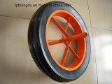 China Manufacturer 15′′x3 ′′solid Rubber Wheel