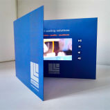 Low Price Popular LCD Screen Video Brochure 7 Inch Video Book as Effective Tool for Marketing Events