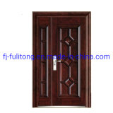 Hot Mother and Son Door Used Exterior Security Double Steel PVC Exterior Door