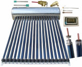 High Pressure Solar Hot Water Heating System Heat Pipe Solar Geyser Solar Water Heater
