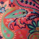 Polyester Embossed Printing Velvet Suede Microfiber Fabric