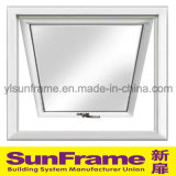 Aluminium Top-Hung Window in White with Excellent Condition