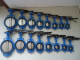 Lever Operated Wafer Type Butterfly Valve