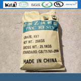 White Powder Polyvinyl Chlorid Sg-5 PVC Resin K-67