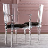 Manufacturer Customized Best Price Transparent Acrylic Dining Chair