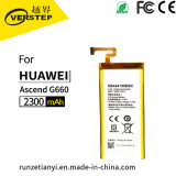 Mobile Phone Battery Lipo Lithium Battery for Huawei G660 L075 2300mAh