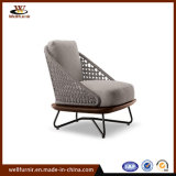 2018 Well Furnir Rope Wood Collection Single Sofa Chair-1