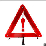 Plastic Safety Warning Triangle Traffic Sign