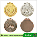 Cheap Wholesale Metal Custom Medal Plating Gold Football