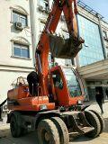 Cheap Mini Excavator Used Cat Sumitomo Hitachi Wheel Excavator