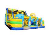 Popular Cartoon Inflatable Slide Combo Inflatable Playground Chob555
