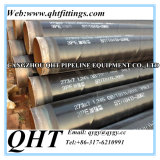 3PE Coated St37/St35.8 St42/52 Carbon Steel Seamless Pipe