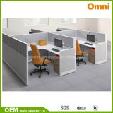 New Style Four Person Office Workstation BIFMA Standard (OMNI-ETHO-09)