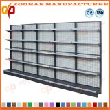 Metal Wall Shelves Supermarket Storage Wire Shelving Display Rack (Zhs397)