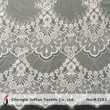 Wholesale Tricot Eyelash Nylon Lace Fabric for Dresses (M2252)