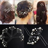 5PCS Simulate Pearl Hairpins Hairstyles Wedding Bridal Hair