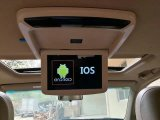 10.1inch Electric Flip Down Monitor Car Monitor Roof Mount Car LCD Color Monitor Flip Down Monitor Overhead Multimedia Video Ceiling Roof Mount Display
