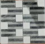 Polished/Tumbled/Carrara White/3D/Stone Marble Tile Mosaic for Floor/Wall/Bathroom/Backsplash/Table/Patterns