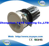 Yaye Hot Sell Ce/RoHS COB 12W LED Recessed Downlight / COB 12W Dimmable LED Downlight