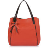 Womens Front PU Decoration Handbags Fashion Leather Purse Bags