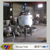 Stainless Steel Double Layer Jacketed Mixing Tank