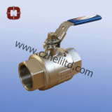 Stainless Steel 2PC DIN3203 M3 Ball Valve 1000wog