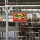 2100mm X 2400mm Galvanized Portable Temporary Fence