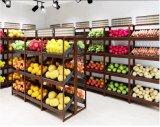 Steel Supermarket Hypermarket Fruits &Vegetables Display Racks