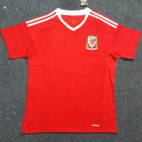 Welsh Home Soccer Jersey Euro 2016