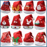 Plush Christmas Hat for Adults and Kids Christmas Santa Claus Hat
