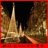 2.5m Festival LED Cone Tree Party Supply Crystal Drop for Christmas Tree Decoration