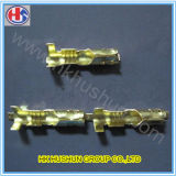 Factory Solder Crimp Terminal Pins with Brass (HS-DZ-0046)