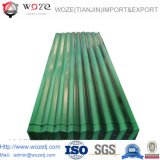 China Factory Corrugated Metal Sheets / Color Coated Roofing Steel