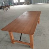 Antique Color Beech Wood Outdoor Farmhouse Dining Table