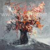 Handmade Flower Canvas Oil Painting for Wall Art