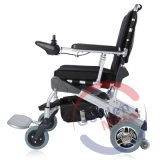 FDA 8 Inch Light Weight Brushlesss Foldable Electric Power Wheelchair