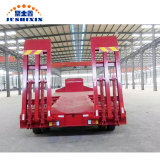 China Supplier Good Price 3 Axle Low Bed/Lowboy/Low Loader Utility Tractor Semi Truck Trailer for Sale