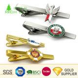 Manufacturers Cheap Custom Logo Luxury Silver Men Cufflinks Tie Clip Bar Set Wholesale Fashion Blank Zinc Alloy Gold Brass Airplane Bus Magnetic Metal Tie Clip