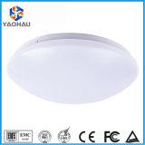 Plastic Cover LED Microwave Sensor Light SMD 18W Indoor LED Motion Sensor Ceiling Light