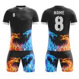 Cheap Striped Customized Blank Football Shirt Maker Polyester Soccer Jersey