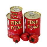 Double Concentrated Tined Tomato Paste in High Quality