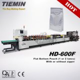 Flat Bottom with Zipper Bag & Pouch Eight Side Seal Four Side Seal Bag Making Machine HD-600f (1-2 lanes)