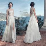 Sleevless Chiffon Wedding Gown 2018 Beach Country Travel Bridal Evening Dresses Lb1448